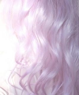 pelo rosa pastel