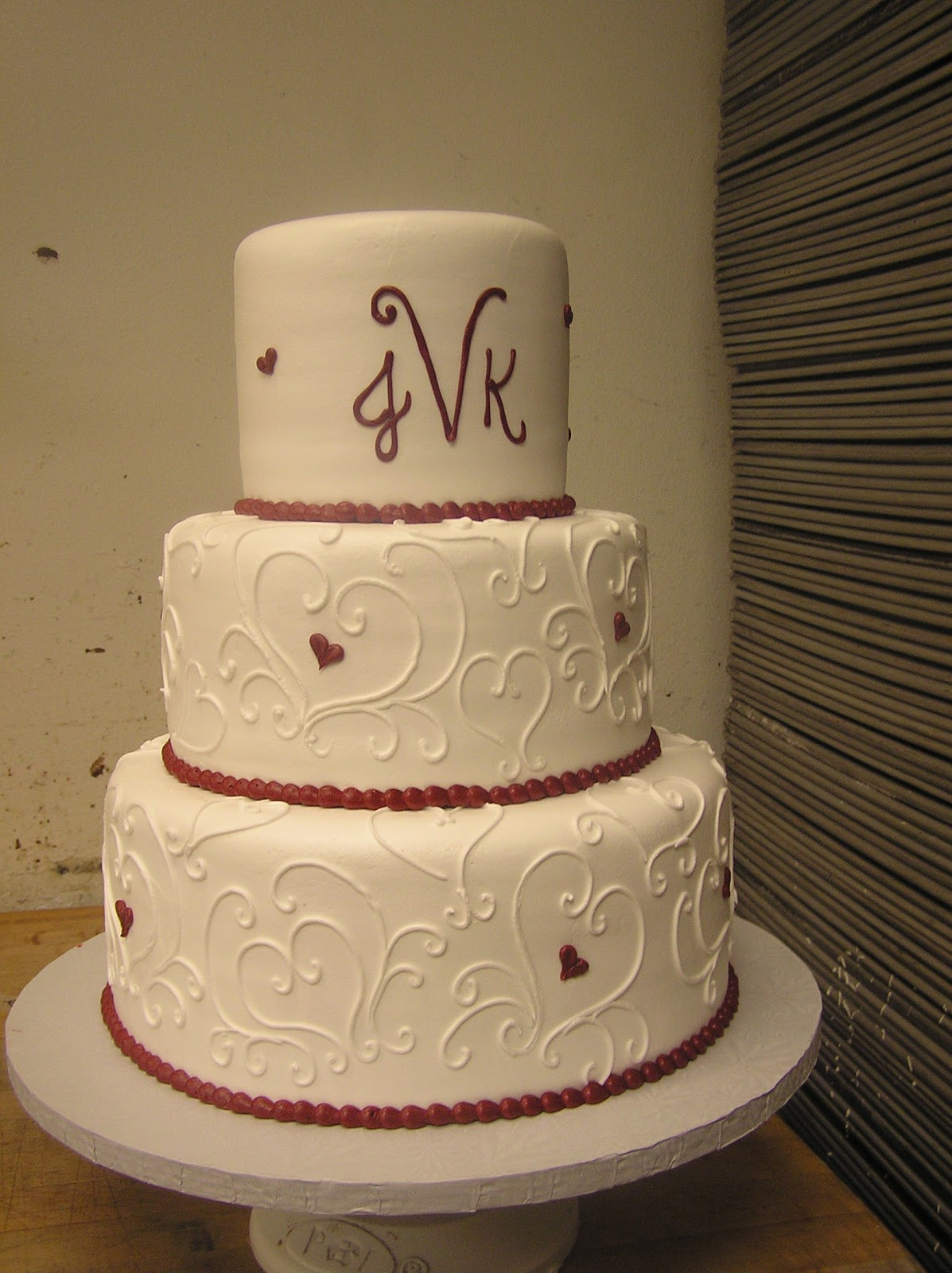 Sweet Designs by Teri Wedding Cakes Piped Designs