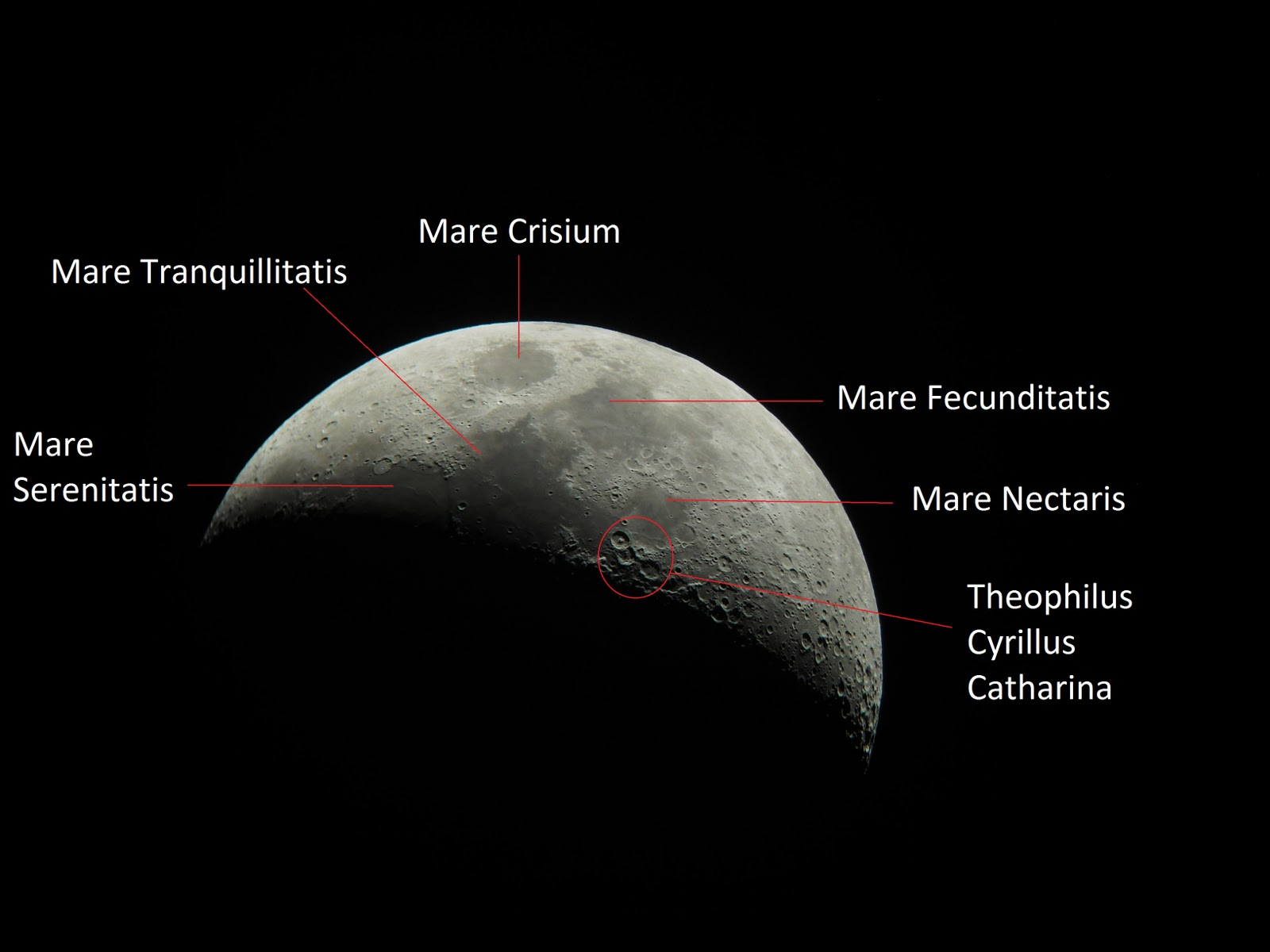 Little hubble: mencerap bulan