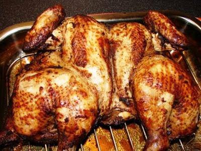 Oriental Style Roast Chicken