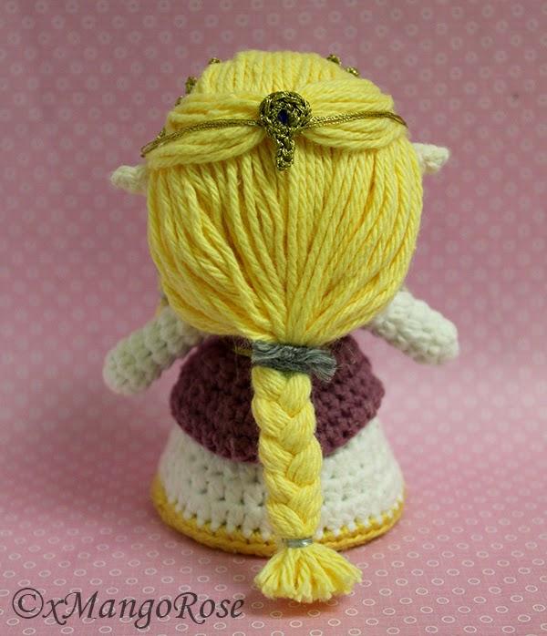 xMangoRose: Princess Zelda Amigurumi Crochet Doll
