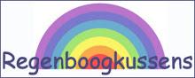 Borduren voor regenboogkussens