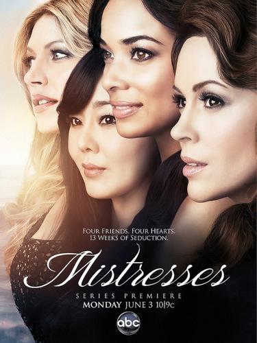 MISTRESSES nueva serie de Alyssa llega a Sony Enterteiment Mistresses-ABC-season-1-2013-poster