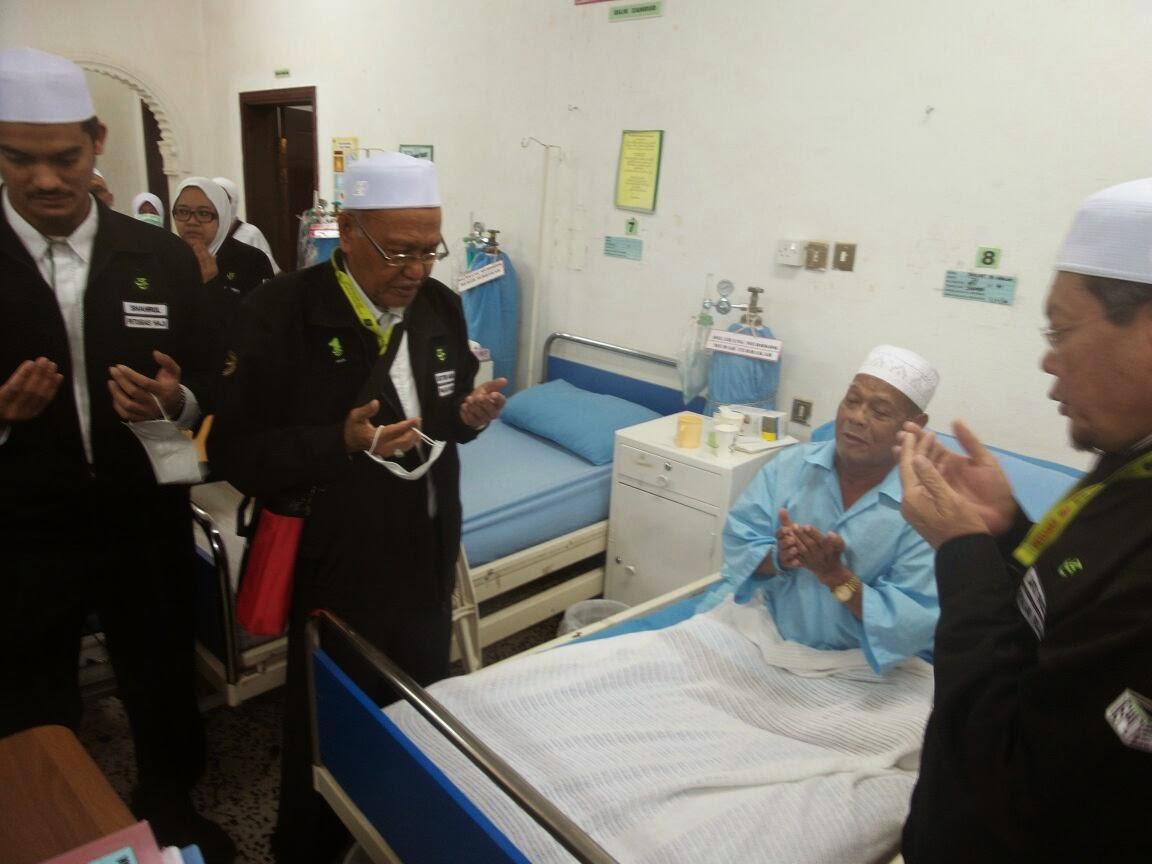 HAMPIR 10 RIBU JEMAAH HAJI MALAYSIA TERIMA RAWATAN azeezputera tabung haji haji haji1435