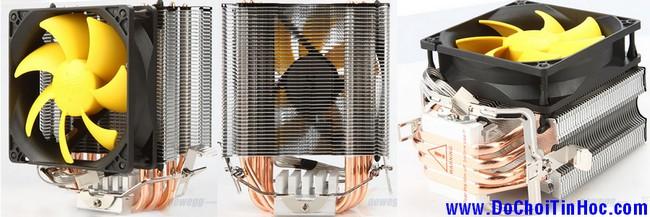 PHỤ KIỆN high-end PC: Tản nhiệt CPU, keo cao cấp, FAN 8-23cm, đồ mod PC, HÀNG ĐỘC!!! - 8