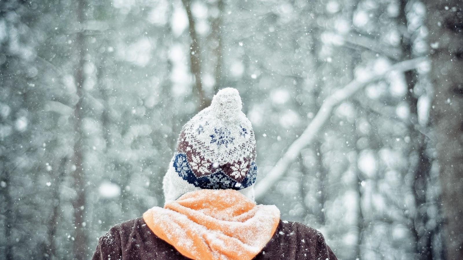 Картинки девушек зимой (15фото) Картинки для