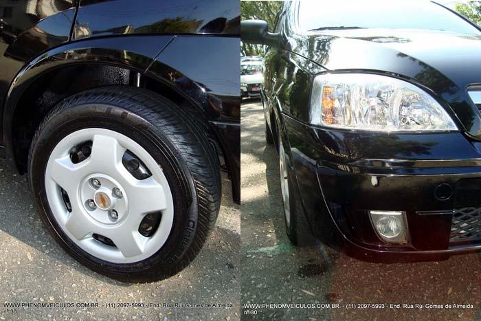 Corsa Hatch 1.4 Econo.Flex 2010 - preto usado