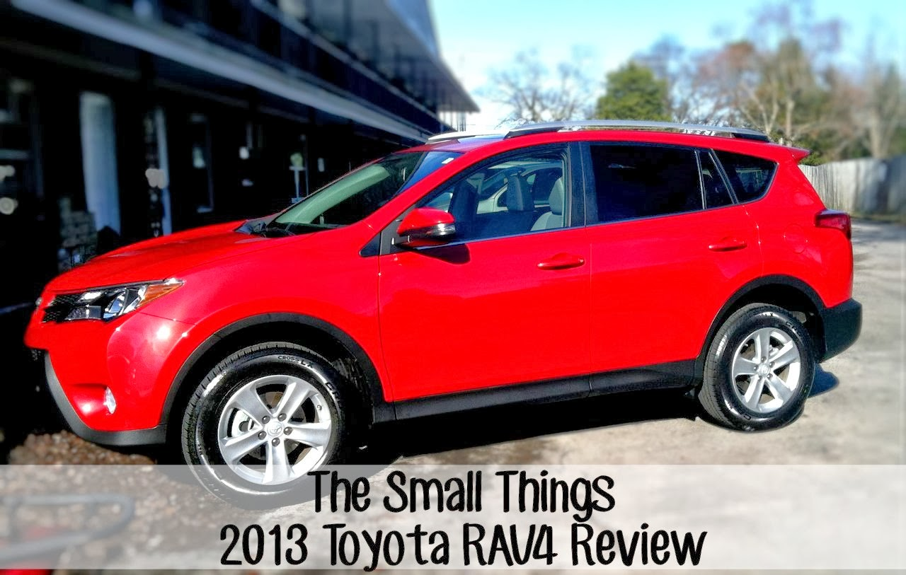 2013 toyota rav4 xle review the small things. Black Bedroom Furniture Sets. Home Design Ideas