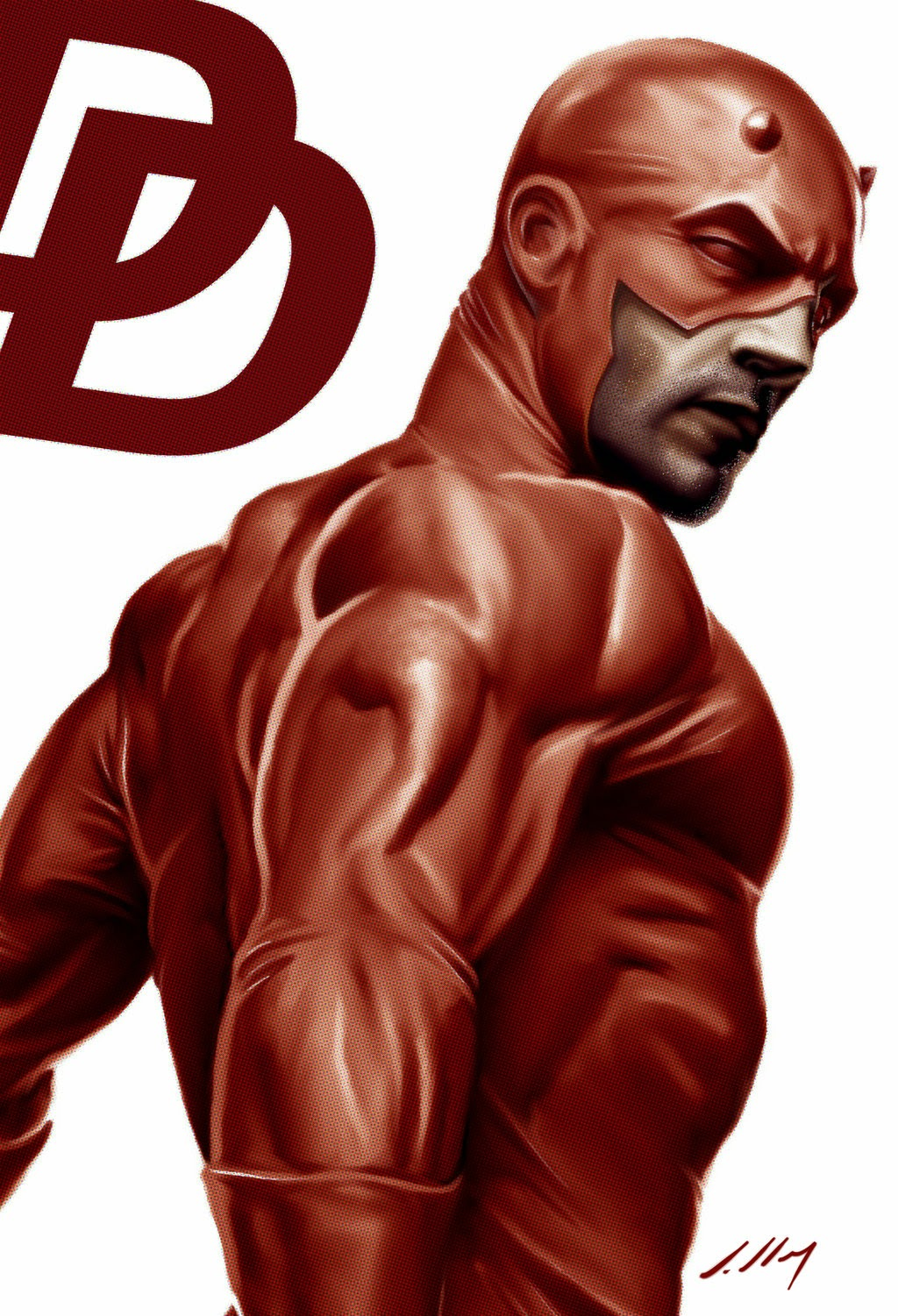 Alexandre Salles' Daredevil from his DeviantArt Page