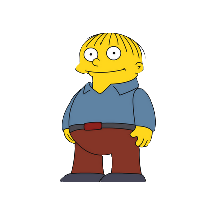 Cartoon Characters 16 PNG Simpsons