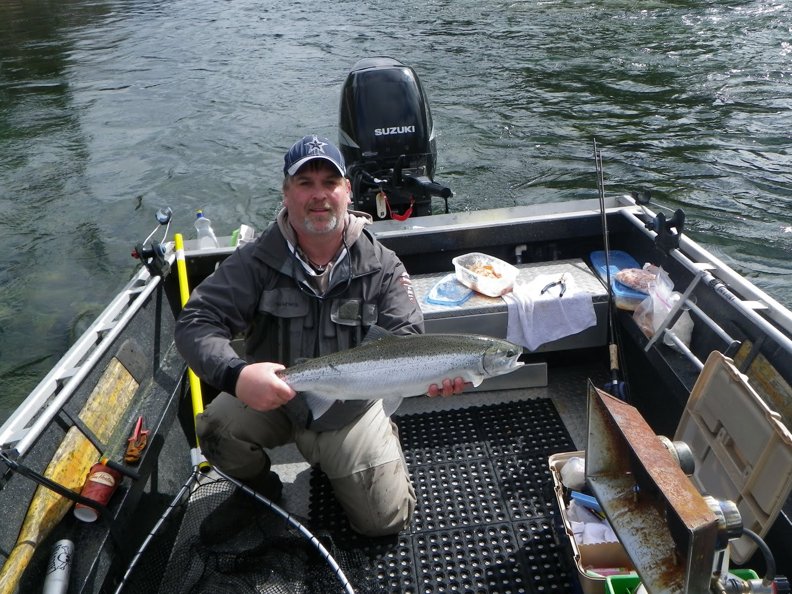 Stamp River, Guided Fishing, Steelhead, Coho, Chinook, Sockeye