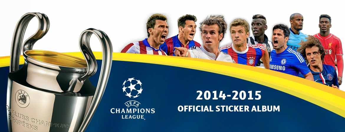 Panini uefa champions league 2014 2015 official sticker collection 3