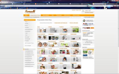 Screenshot Personello Fotogeschenke