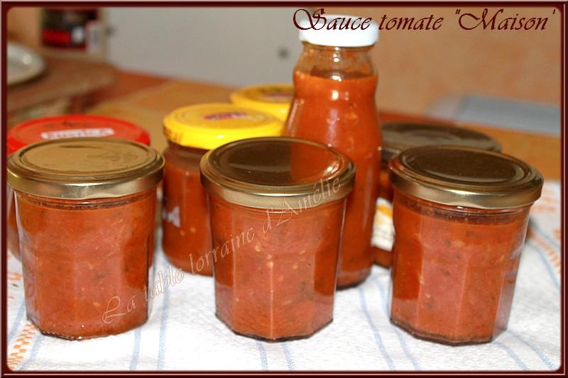 La table lorraine d 39 amelie sauce tomate en conserve for Aubergines en conserve maison