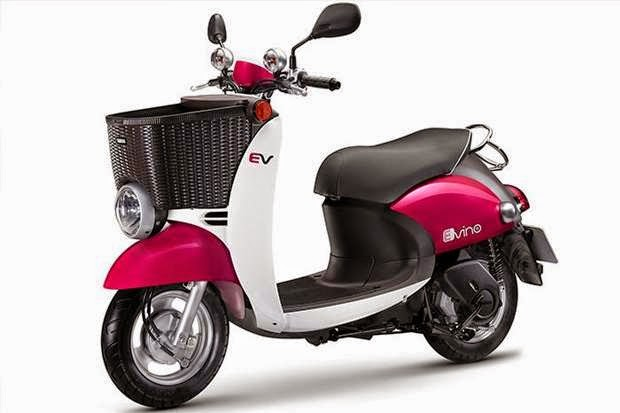 Yamaha-e-vino Scooter