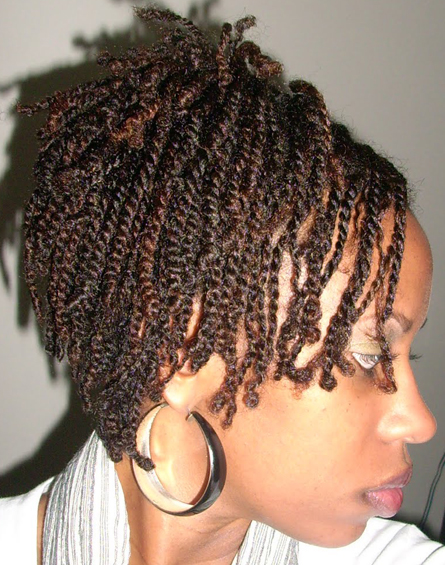 Two Strand Twists Source