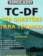 Concurso TCDF questões tcdf questões de concurso exercícios tcdf lei orgânica tcdf