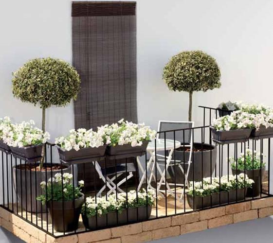 Terrazas Decoracion Modernos ~ Decora el hogar Decora modernos balcones peque?os