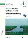 Cover Macrofauna-atlas van Noord-Holland uit 1993