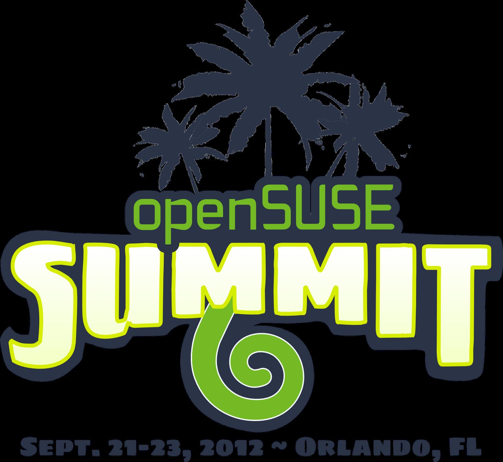 Opensuse Wallpaper: OpenSUSE Revolution: OpenSUSE Summit Logo