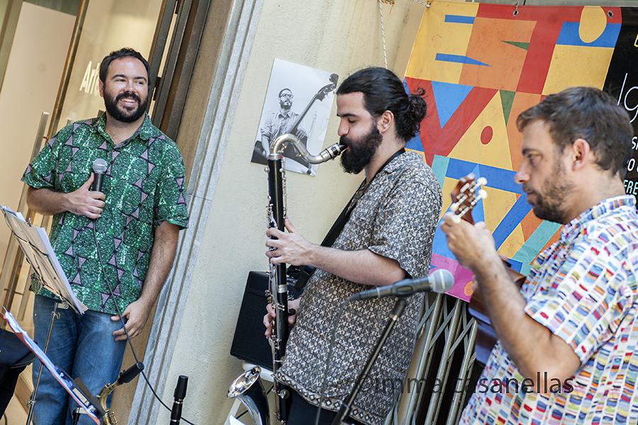 Dani Álvarez, Marcel·lí Bayer i Santi Careta (Pgte. Capità Galí, Igualada, 28-6-2015)
