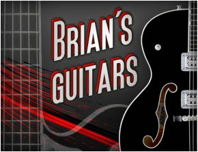 Check out Brian Setzer's Guitar Collection