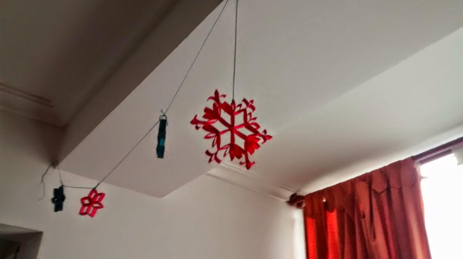 decoracion estrellas navidad diy