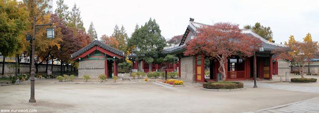 Santuario Dongmyo dedidcado a un guerrero chino