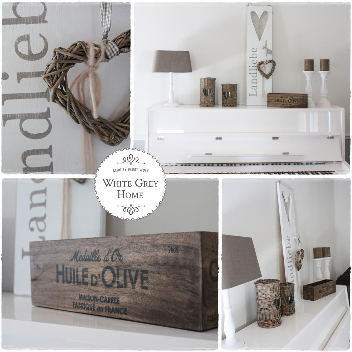 White grey home: herbstdeko im haus