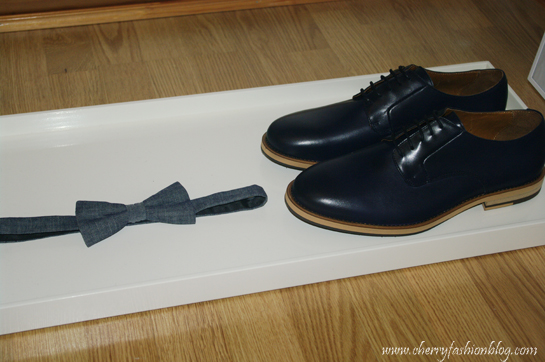 H&M Men shoes and bow tie, H&M Men shoes 2013