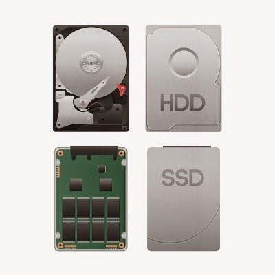 الفرق بين الهاردديسك SSD و HDD