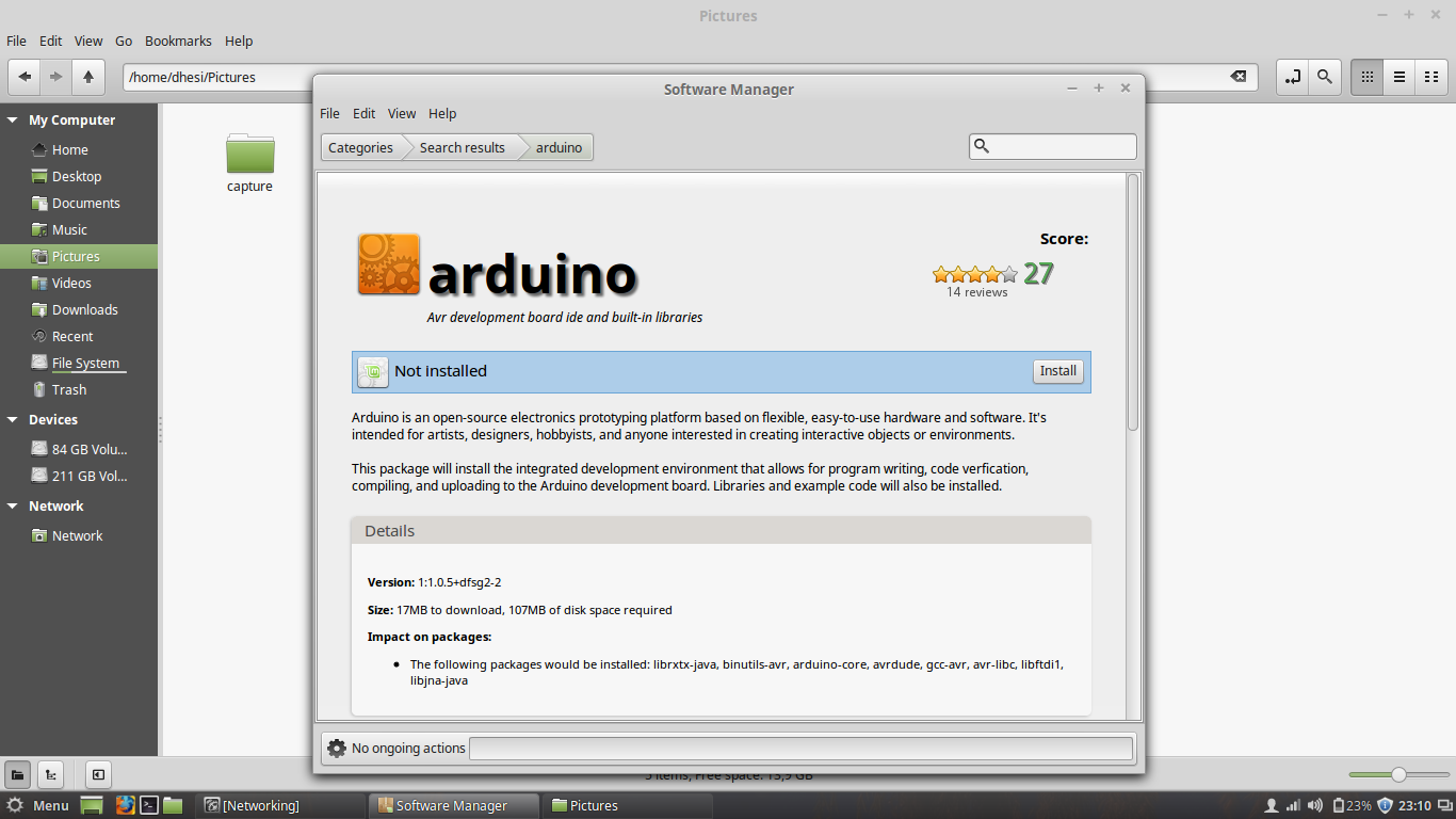 Arduino ide download linux mint