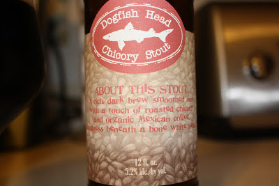 Chicory Stout, Dogfish Head, Coffee, Craft Beer