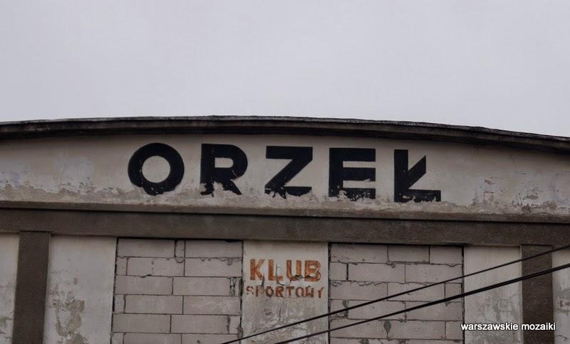 hala sportowa zabytek Podskarbińska Warszawa Praga Południe modernizm