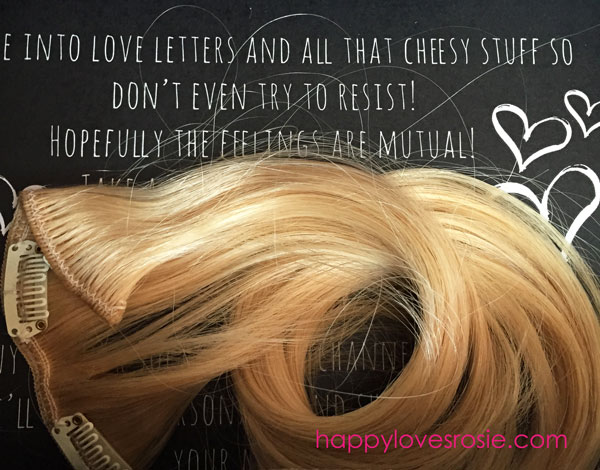 Irresistible me hair extension review by rosie happy loves rosie rosie reviews irrestible me hair extensions happy loves rosie pmusecretfo Gallery