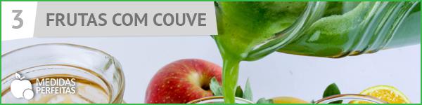 Suco de Frutas com Couve - Receitas de Sucos Detox