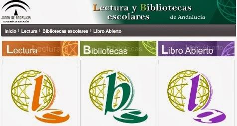 Portal de lectura y biblioteca de la Junta de Andalucía