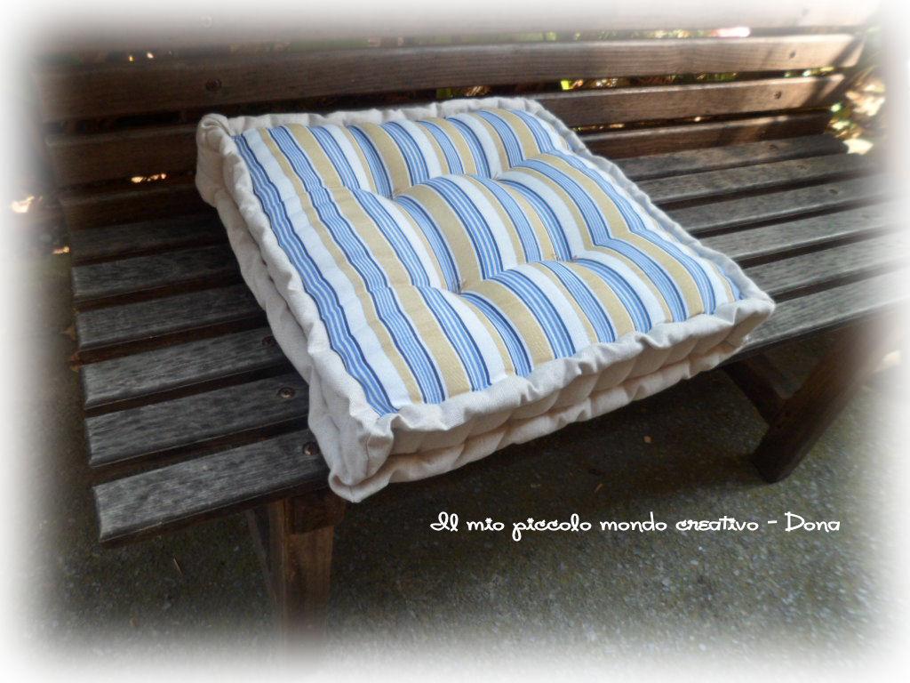 Un cuscino.... ~ Il mio piccolo mondo creativo