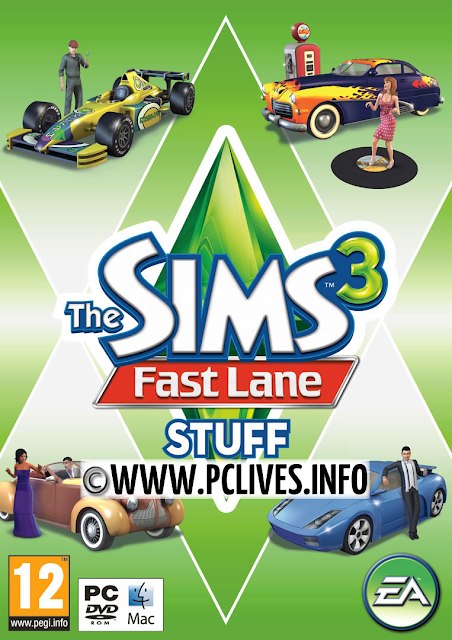 download full and free pc game The Sims 3: Fast Lane Stuff cracked