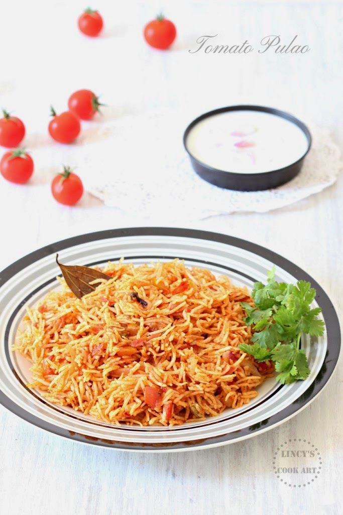 Spicy tomato pulao