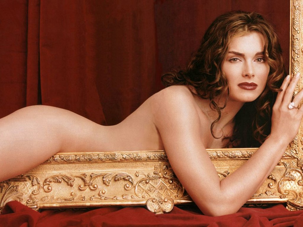 Brooke Shields Nude Pictures In Prett Baby