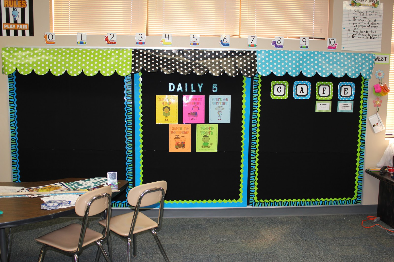 Classroom Theme Ideas Cafe ~ Teach on cafe awnings how to