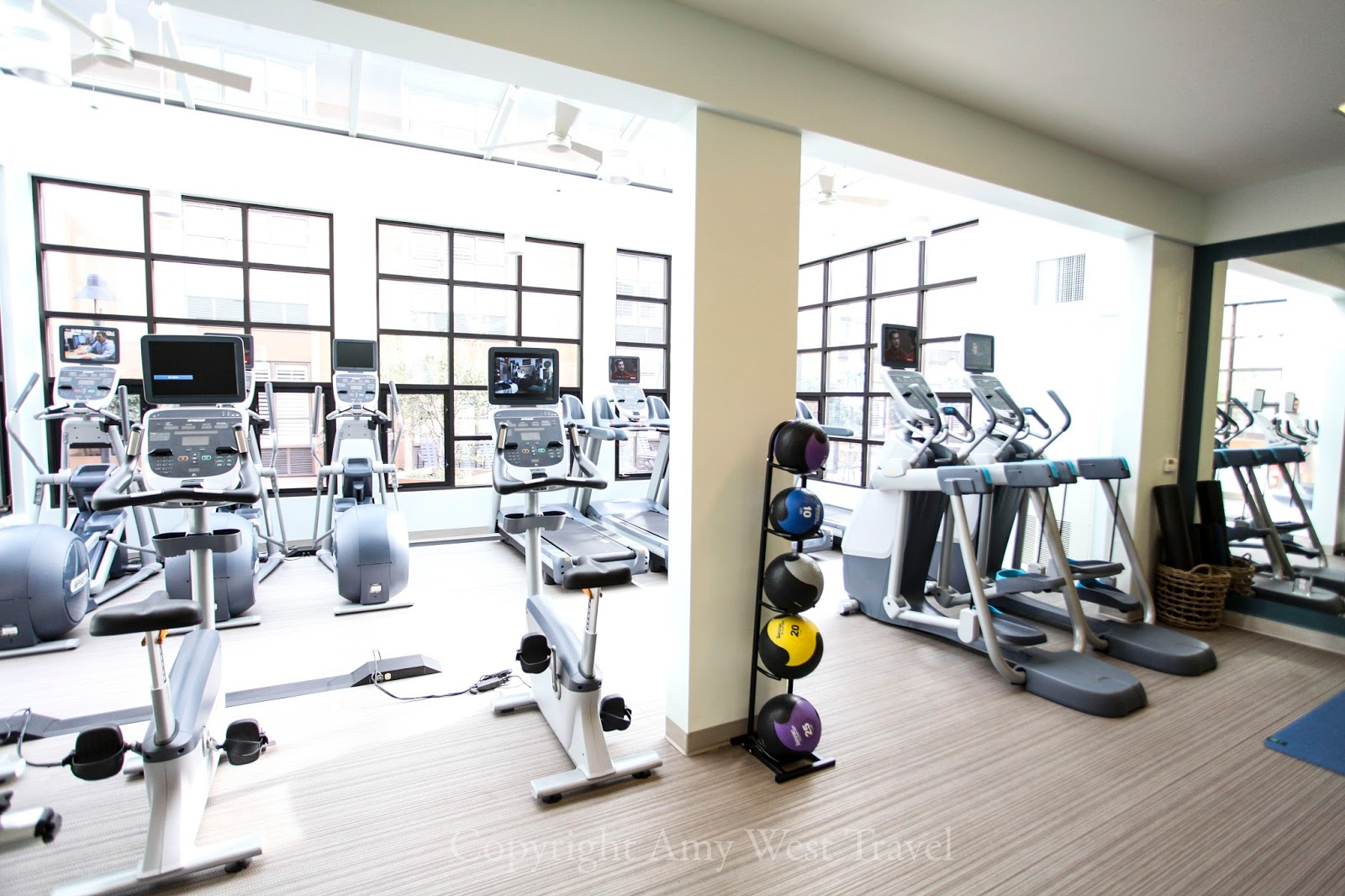 Fitness Center at Pier 2620 Hotel