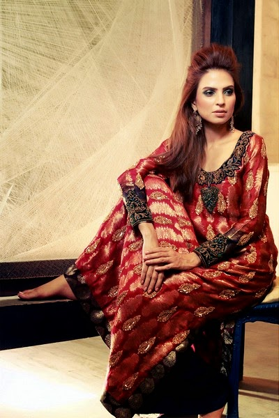 Tena Durrani's Camellia Collection 2014