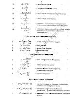 Основные формулы по физике за 7 11 класс