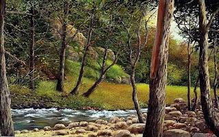 Realismo Paisajes Cuadros Sitios Naturales