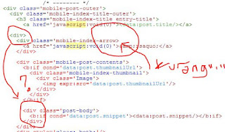 error edit html blogspot