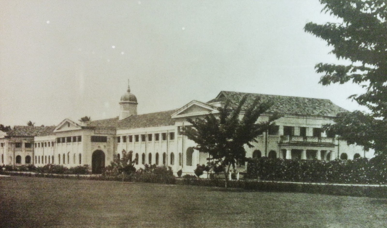 Penang Free School at Green Lane, Penang in 1932 | The First 100 years of Penang Free School blog