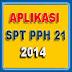 APLIKASI SPT MASA PPH 21 - 2014