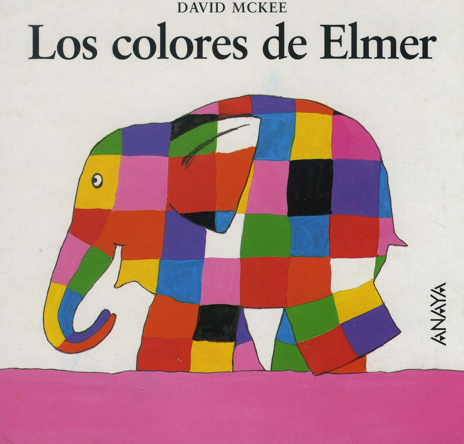 Elmer y compa a qui n es elmer for Los colores de pintura